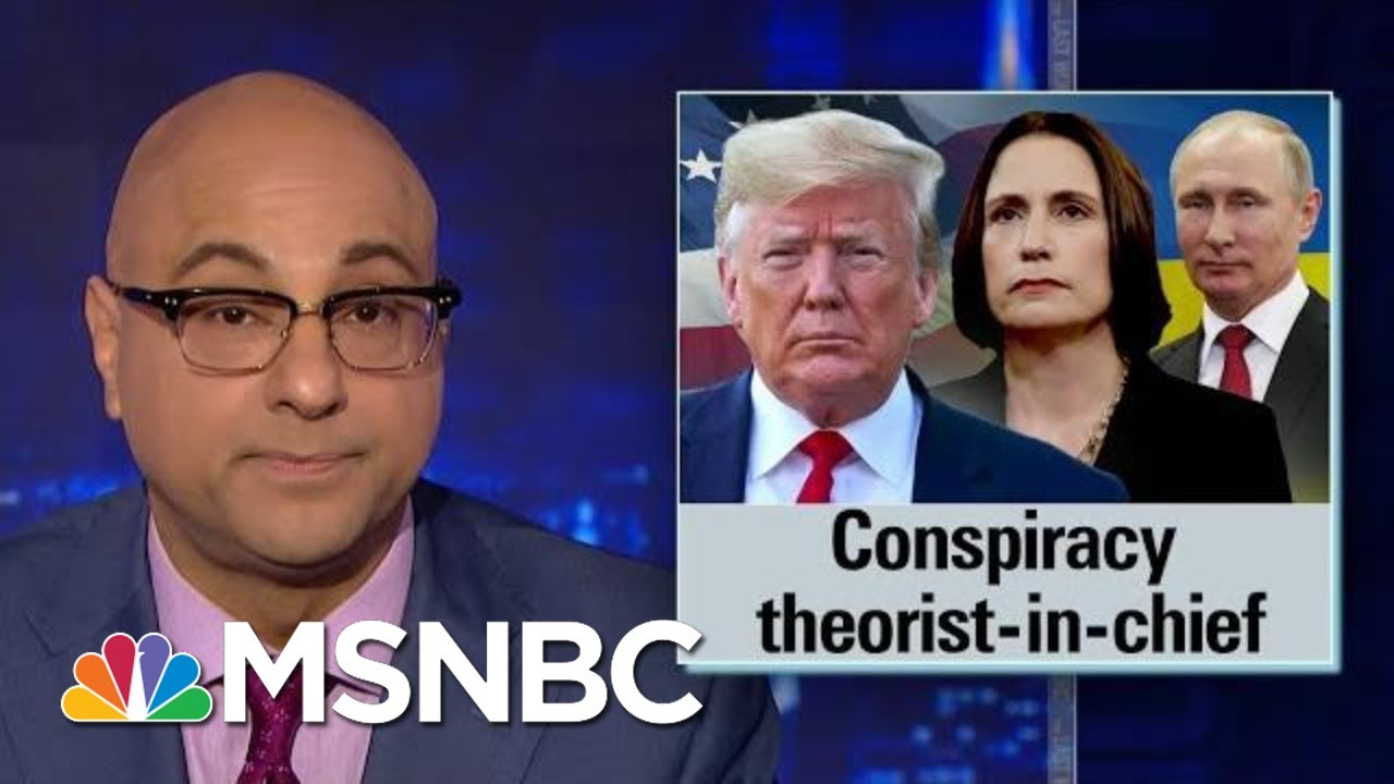 Trump Continues Pushing Debunked Ukraine Conspiracy Theories | The Last Word | MSNBC 4