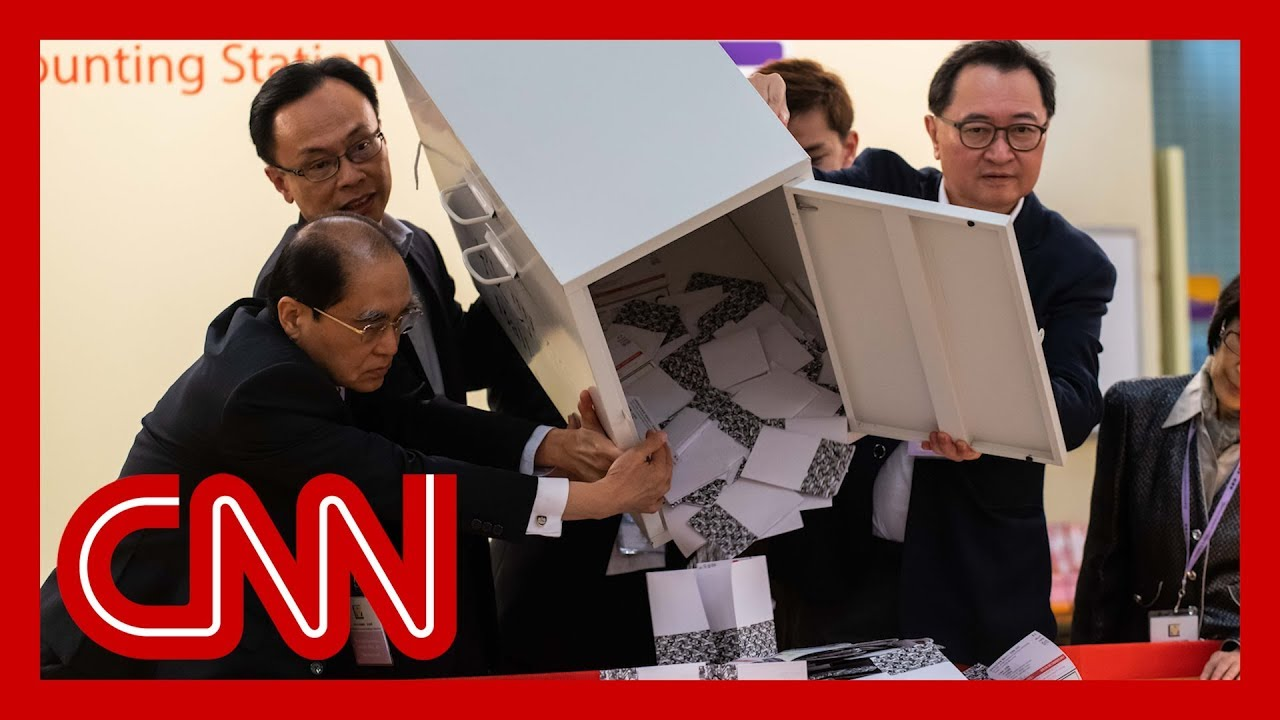 Early Hong Kong election results show pro-government lawmakers losing seats 8