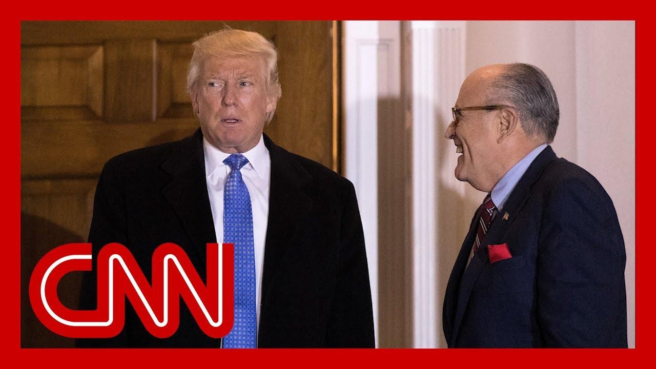 Giuliani backtracks after 'joking' that Trump might betray him 6