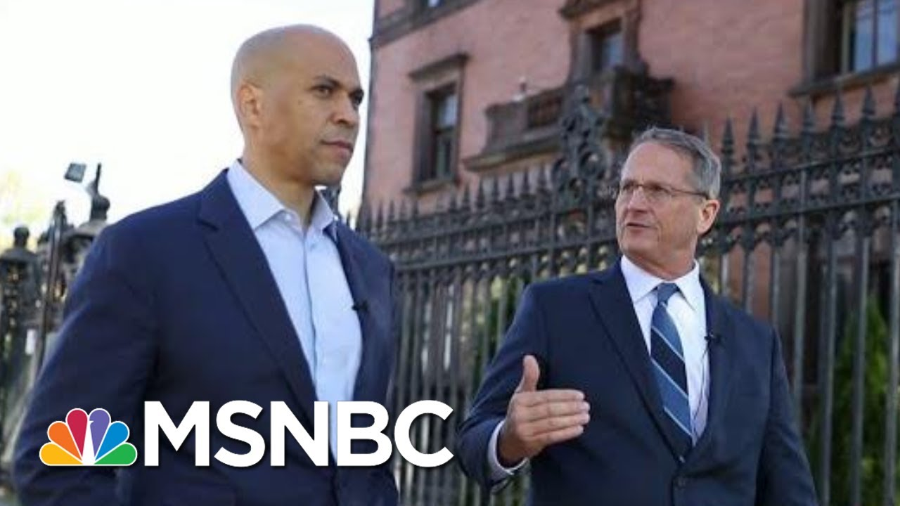 How Cory Booker Stays Healthy On The Trail | Morning Joe | MSNBC 8