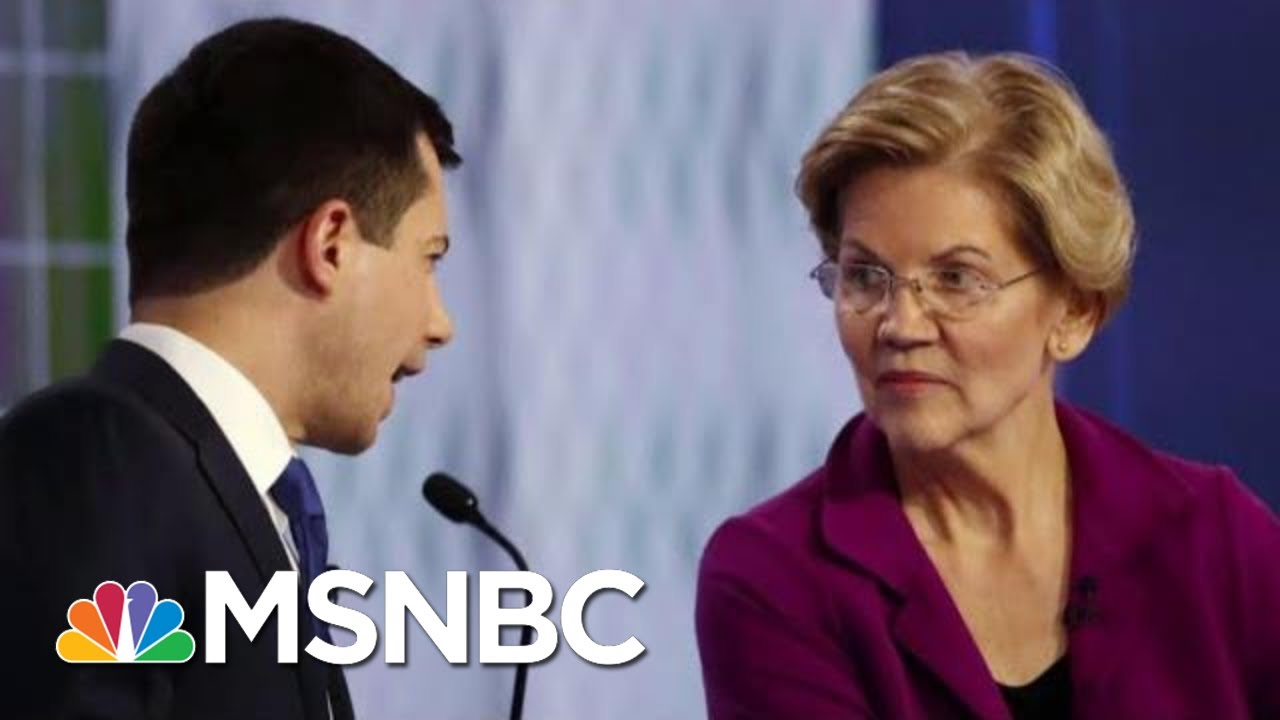 2020 Democrats Tangle Over Best Way To Close The Wealth Gap | Velshi & Ruhle | MSNBC 9