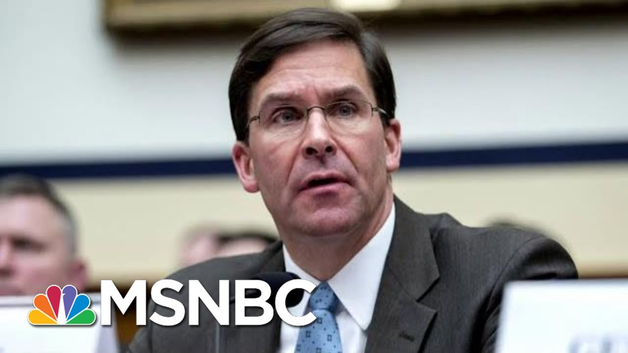 Esper: Trump Gave Order For Navy SEAL Eddie Gallagher To Keep Trident Pin | Hallie Jackson | MSNBC 10