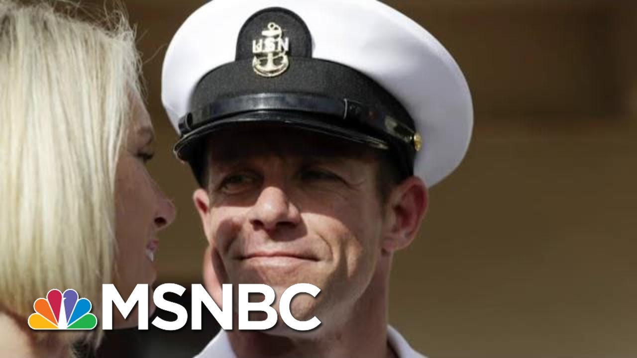 Navy Chief Fired After Opposing President Donald Trump On Navy SEAL | Velshi & Ruhle | MSNBC 5