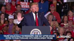 After impeachment vote, a defiant Trump - Day That Was | MSNBC 6