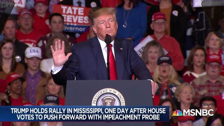 After impeachment vote, a defiant Trump - Day That Was | MSNBC 1