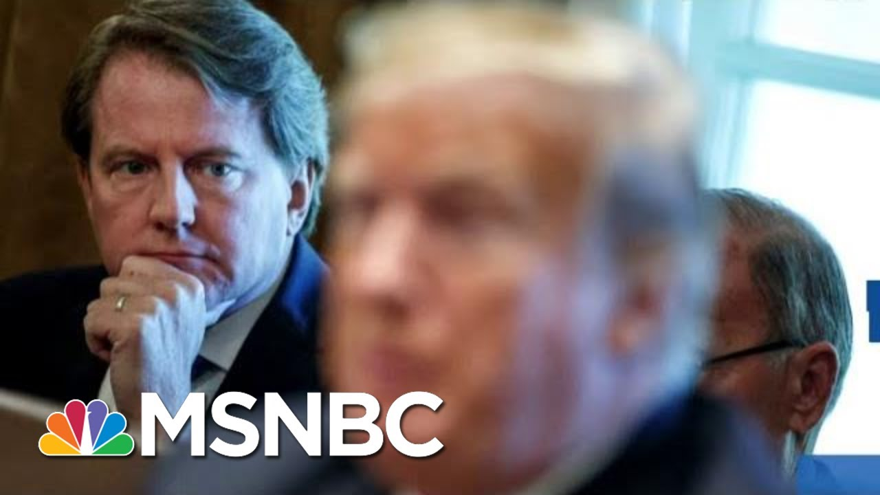 'Devastating Loss': Judge Orders WH Counsel To Testify Before Congress Amid Ukraine Scandal | MSNBC 5