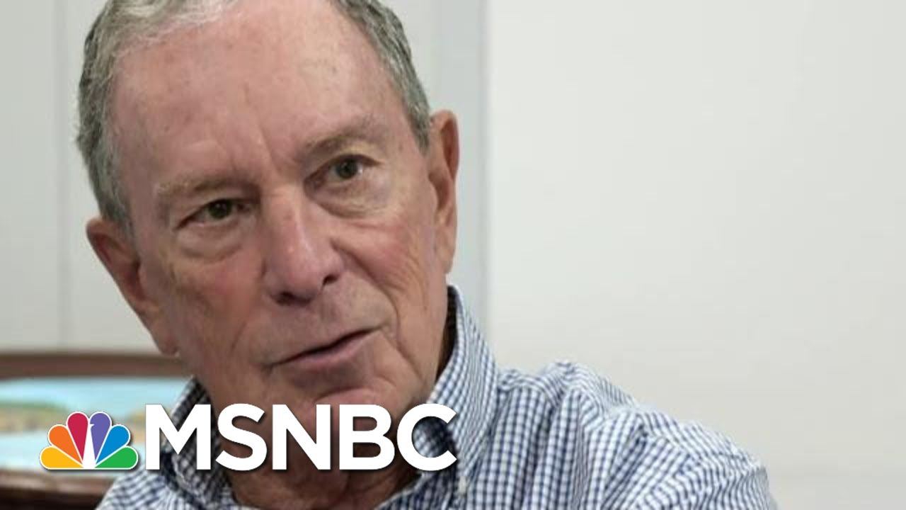 What Does Mike Bloomberg Need To Do To Win Over Voters? | MTP Daily | MSNBC 5