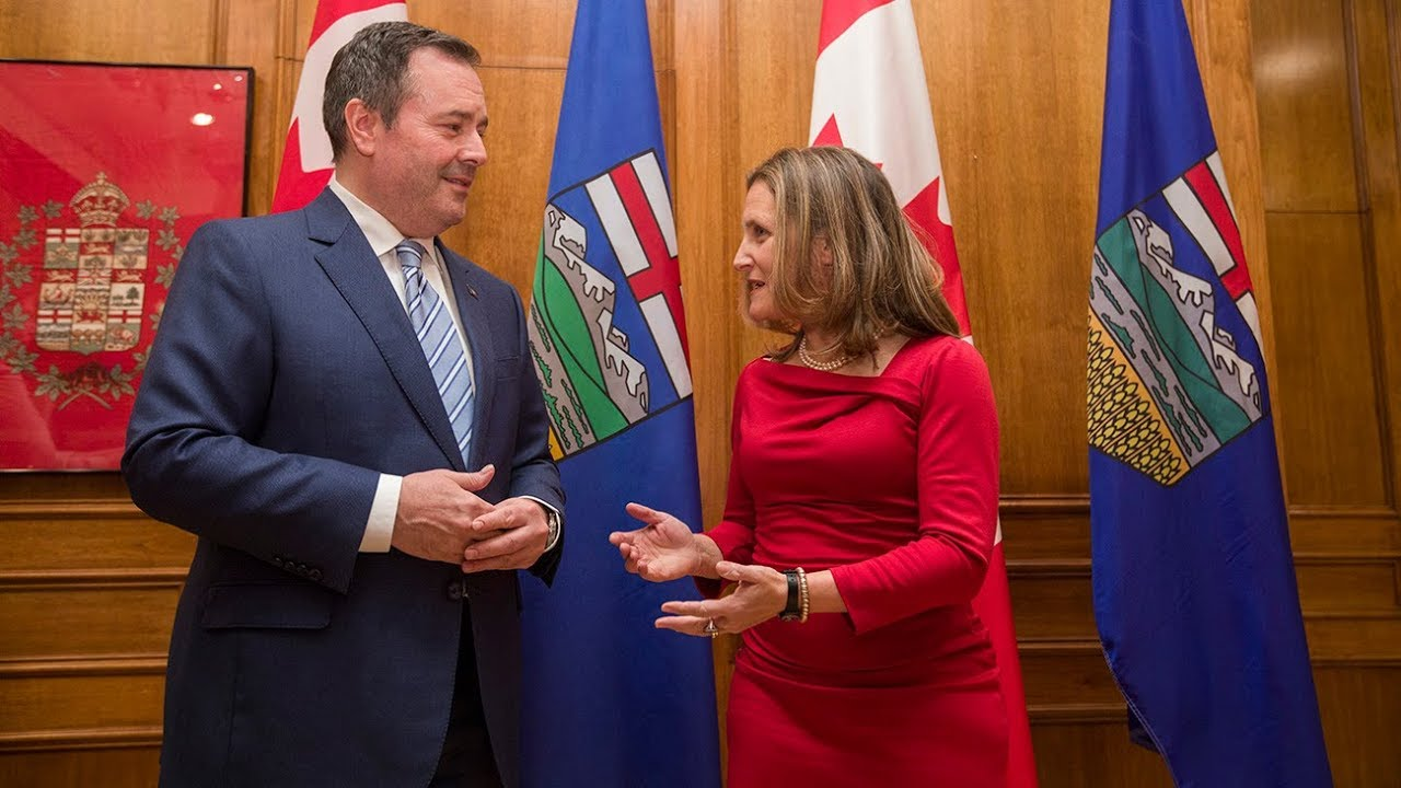 Chrystia Freeland meets with Alta. Premier Kenney in Edmonton 3