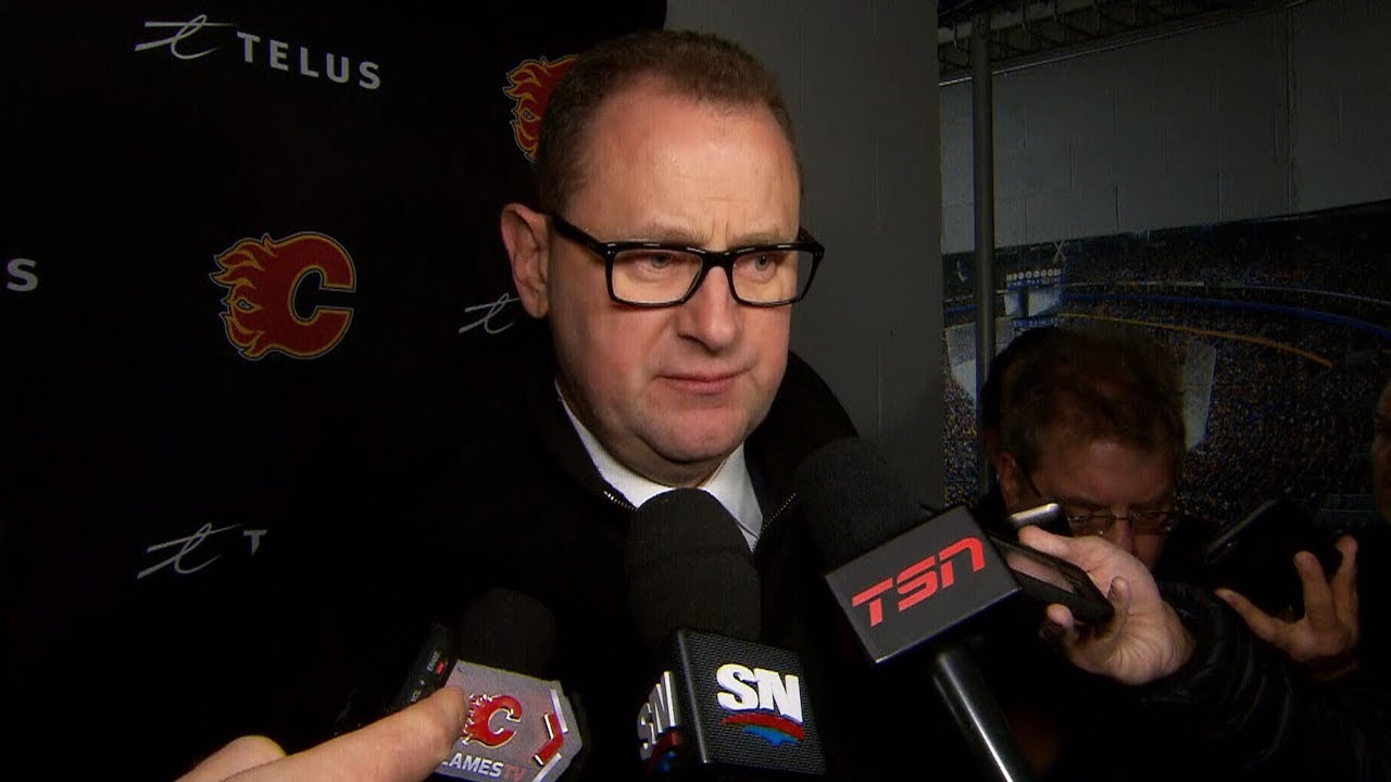 Calgary Flames GM Brad Treliving on investigation into Bill Peters 11