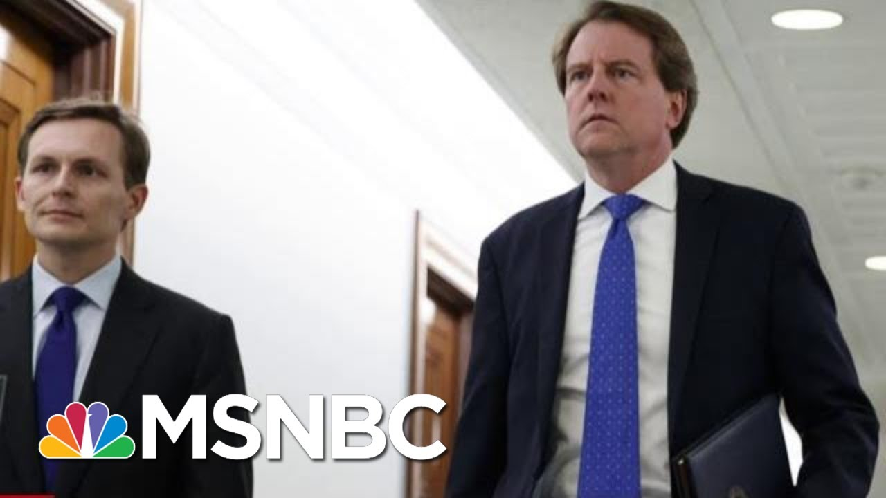 Judge Orders Don McGahn To Testify To Congress | The Last Word | MSNBC 4