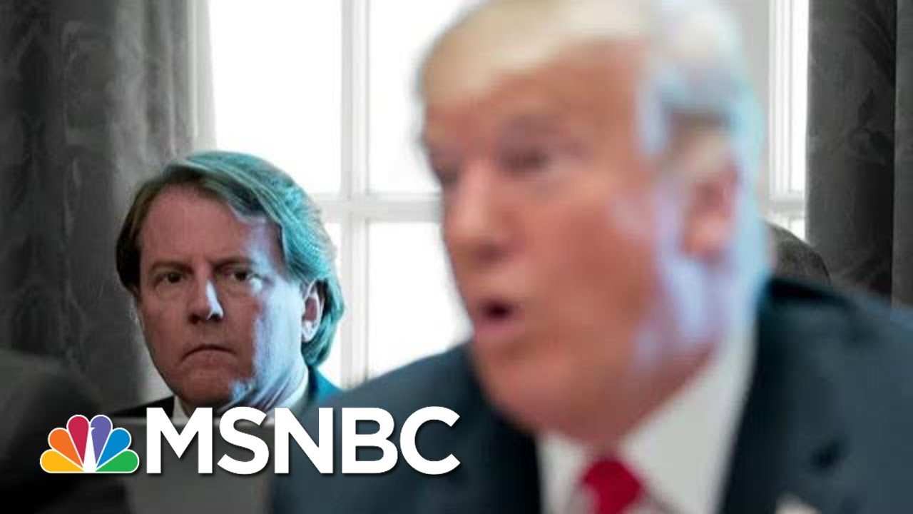 Day 1040: Ruling Don McGahn Must Testify, Judge Says Presidents Aren't Kings | The 11th Hour | MSNBC 4