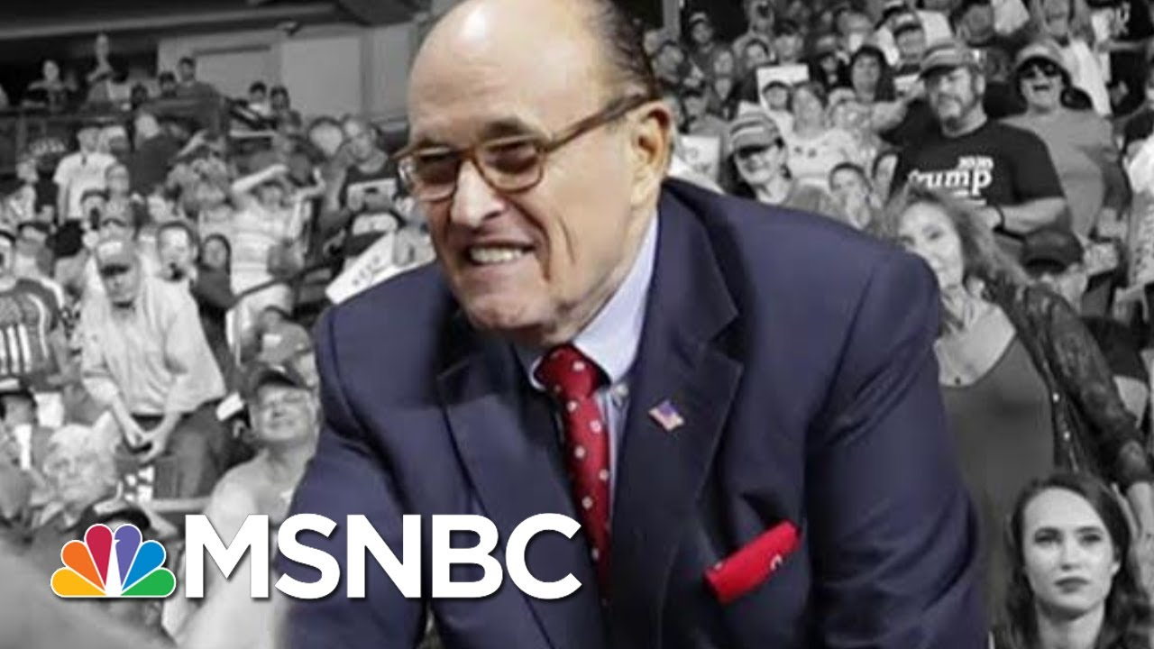 Ashley Parker On Rudy Giuliani's Fate: Trump Is Loyal Until He's Not | The 11th Hour | MSNBC 3