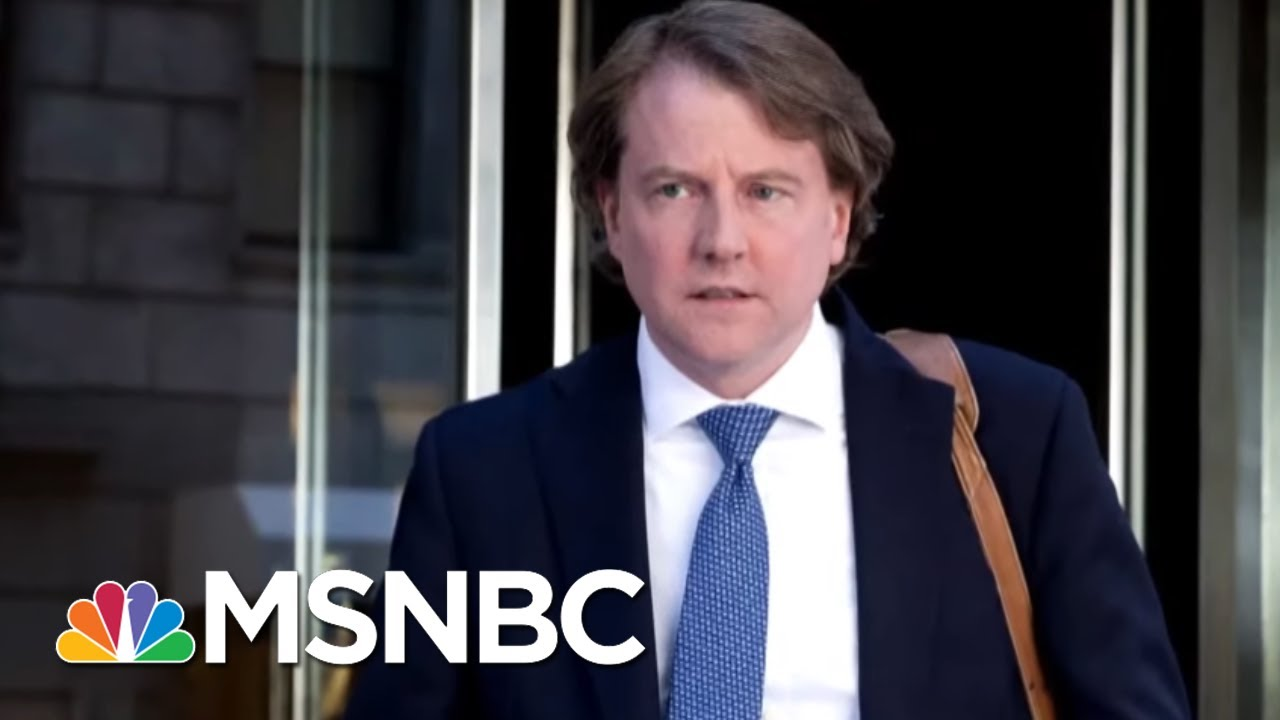 Judge Rules Don McGahn Must Testify Before The House Judiciary Committee | MTP Daily | MSNBC 8