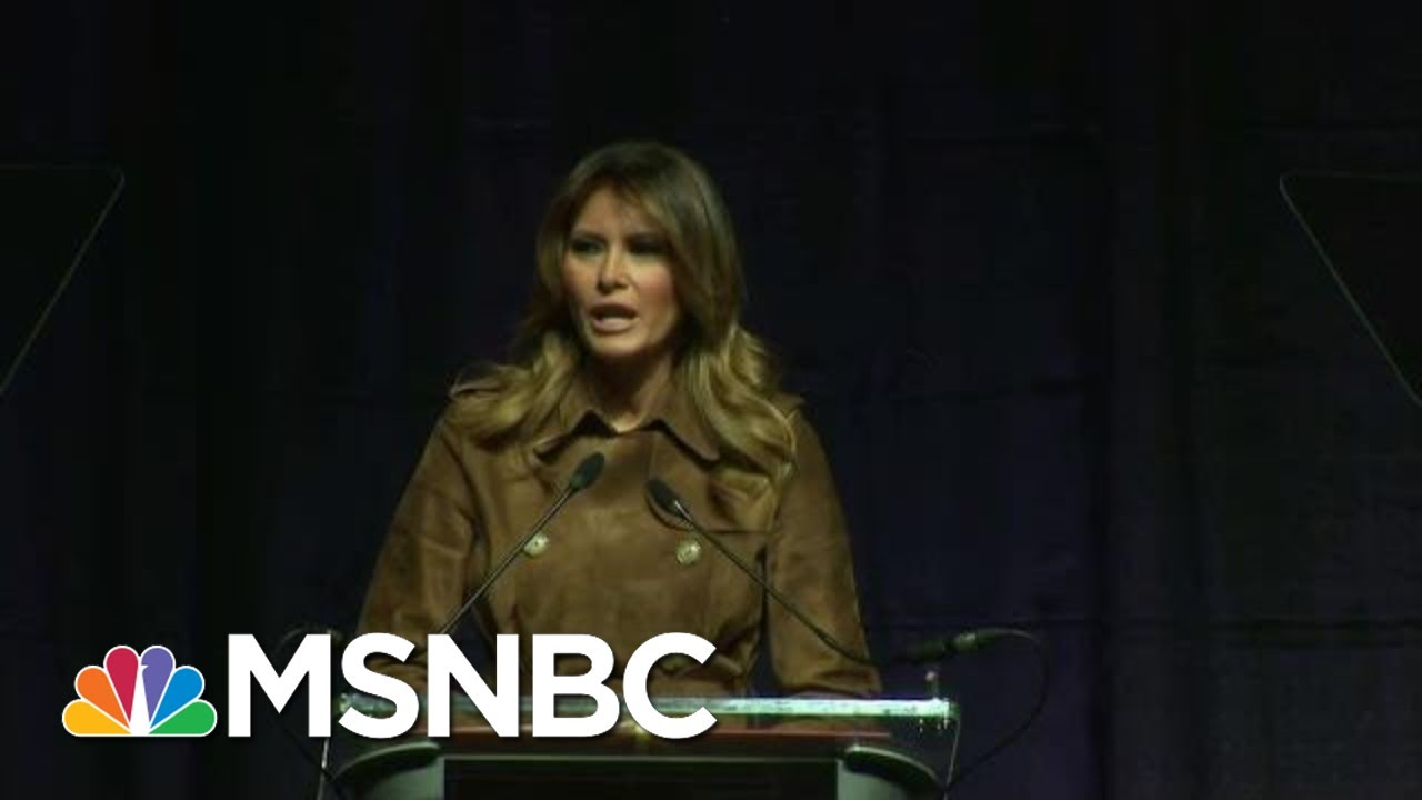 Melania Trump Loudly Booed At Opioid Summit In Baltimore | Craig Melvin | MSNBC 10