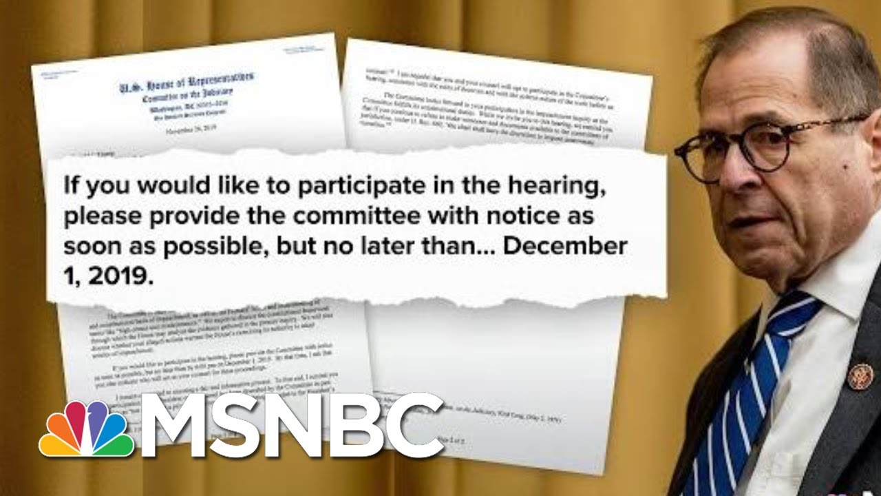 House Democrats Move To Next Phase Of Impeachment Inquiry | Deadline | MSNBC 6