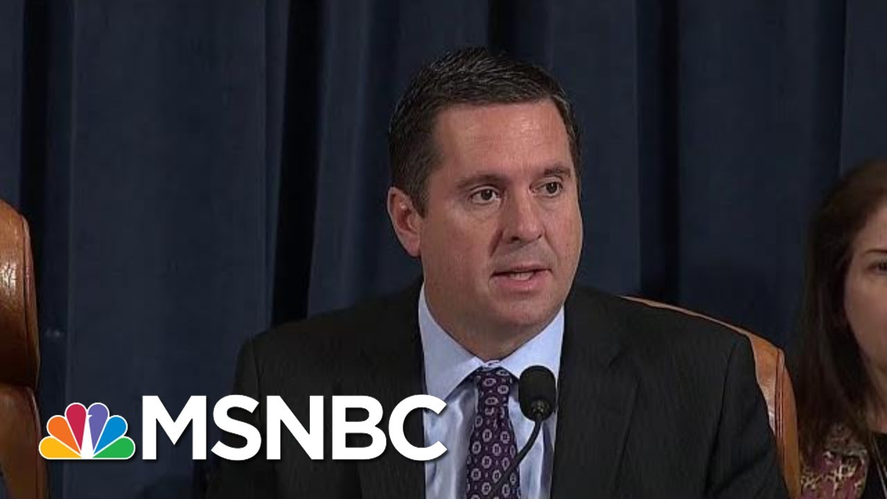 Devin Nunes Now Implicated In Ukraine scandal | All In | MSNBC 11
