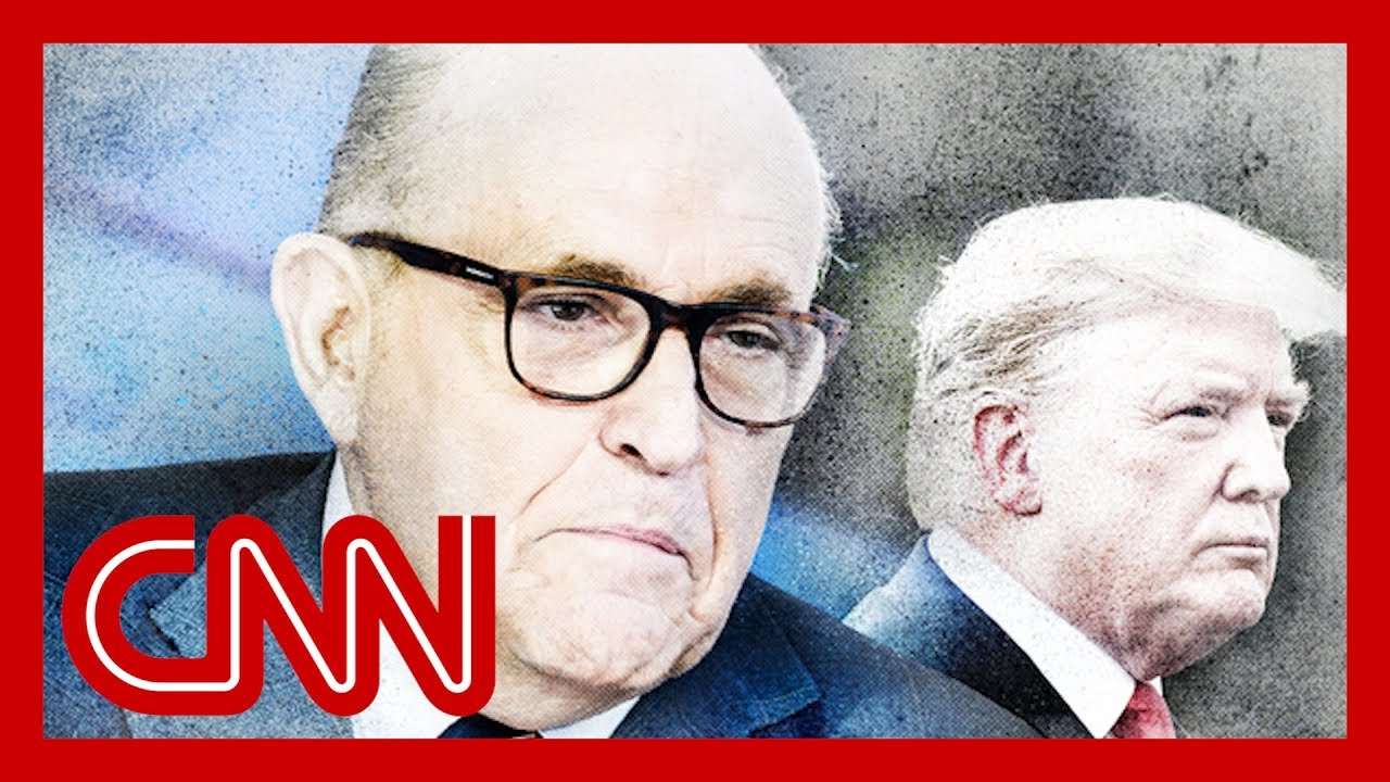Trump tries to distance himself from Rudy Giuliani 2
