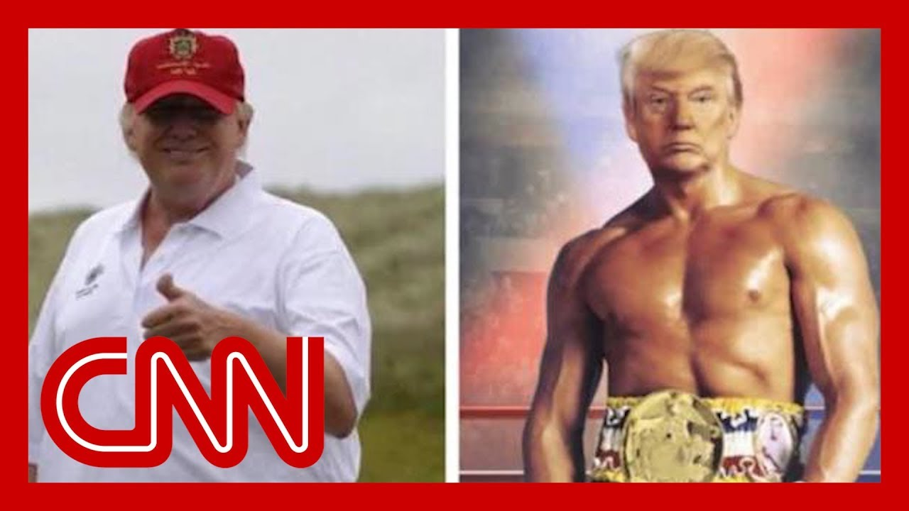 Trump's fake 'Rocky' photo just about breaks the internet 11