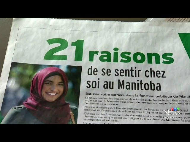 """Mind your own business"": Quebec gov't unhappy over ad citing Bill 21 to woo workers to Manitoba 5"