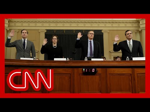 Three experts testify Trump committed impeachable acts, one dissents 9