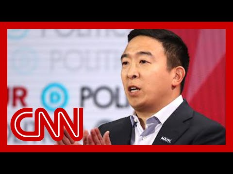 Andrew Yang: Disappointing to be only candidate of color on stage 7