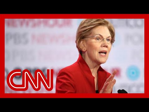 Elizabeth Warren claps back at moderator's age question 9