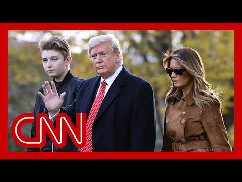 Melania Trump fires back after professor mentions son 8