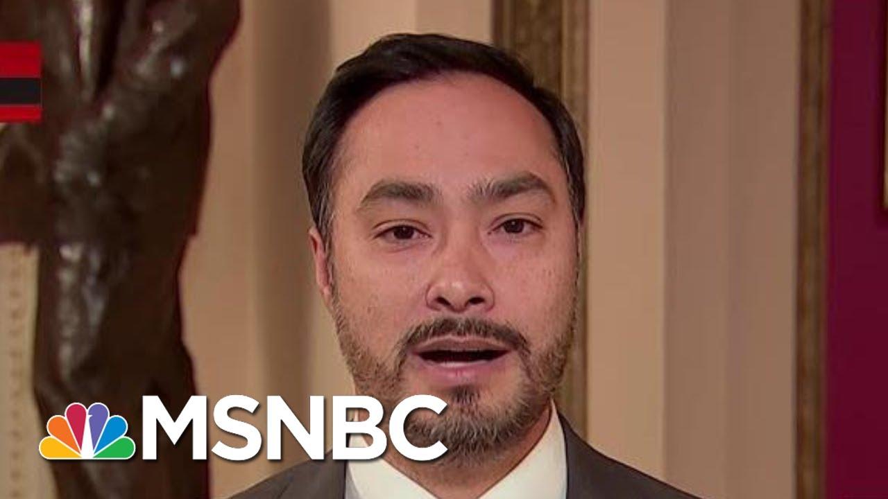 'Henchman For The President:' Rep. Castro On Devin Nunes' Ukraine Involvement | All In | MSNBC 10