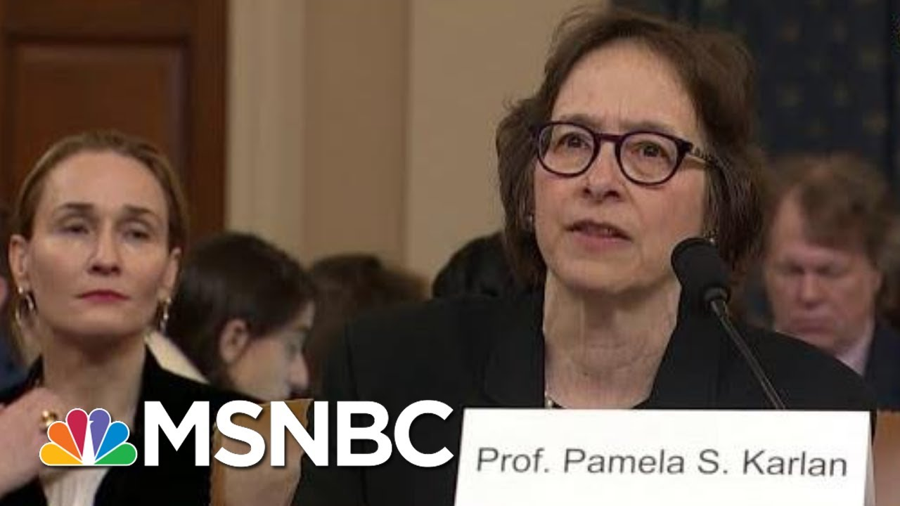 Prof. Karlan: 'I Would Not Speak Without Reviewing The Facts' | MSNBC 10