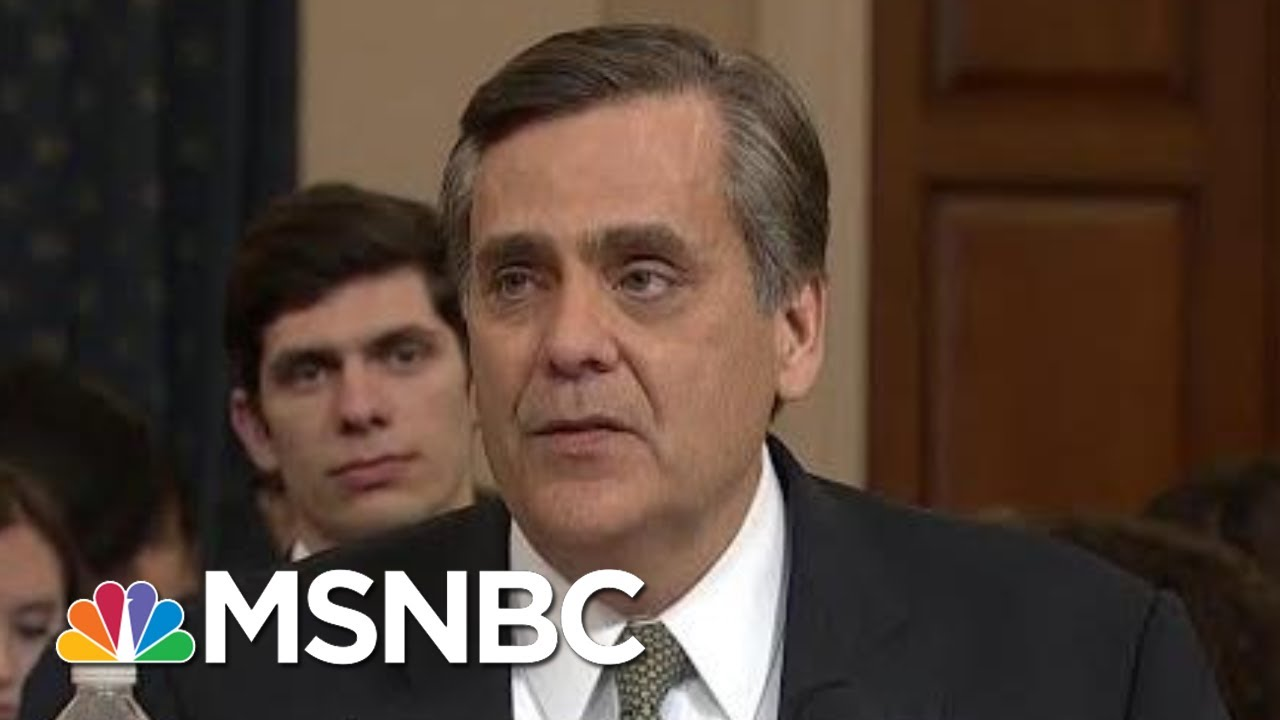 Ari: Republican Witness Was Weak, Had Other Ideas For Constitutional Amendments | MSNBC 3