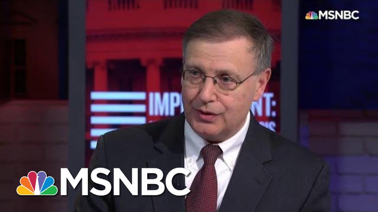Rosenberg: Prof. Turley's Arguments Are 'Extraordinarily Convenient' And 'Weak' | MSNBC 7