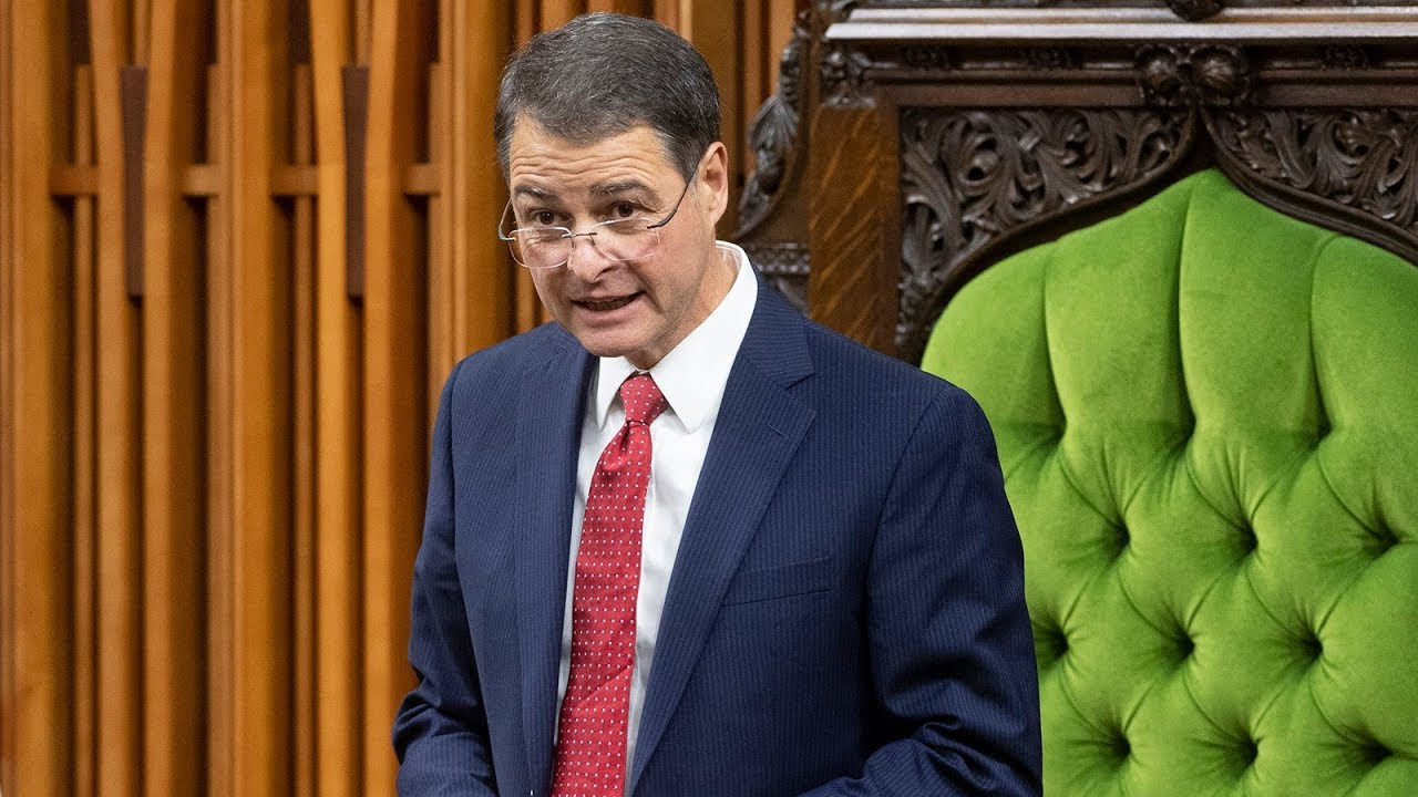 Anthony Rota's first speech as new Speaker of the House of Commons 2