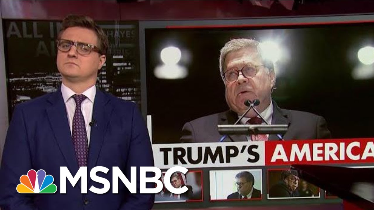 Chris Hayes On William Barr's 'Disgusting, Despicable View' | All In | MSNBC 4