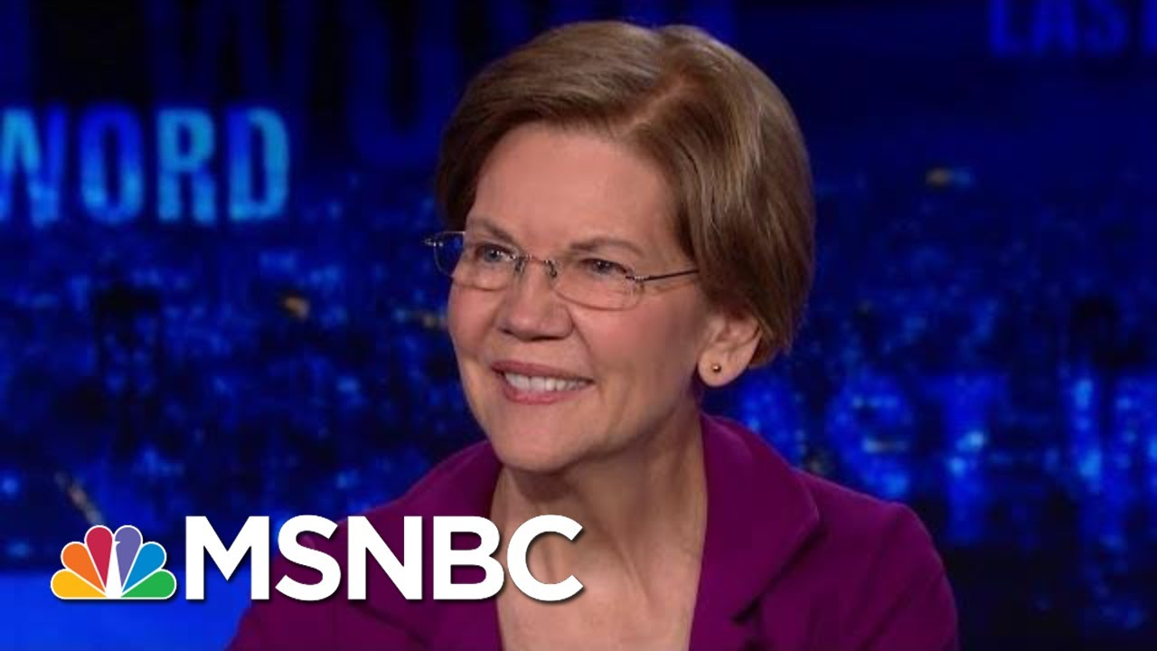 Sen. Warren On Health Care: 'I Will Sign Anything That Helps' | The Last Word | MSNBC 7