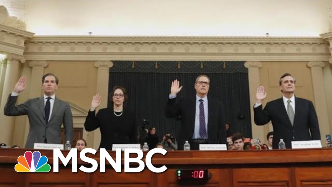 Did The Latest Trump Impeachment Hearing Change Anything On Capitol Hill? | The 11th Hour | MSNBC 4
