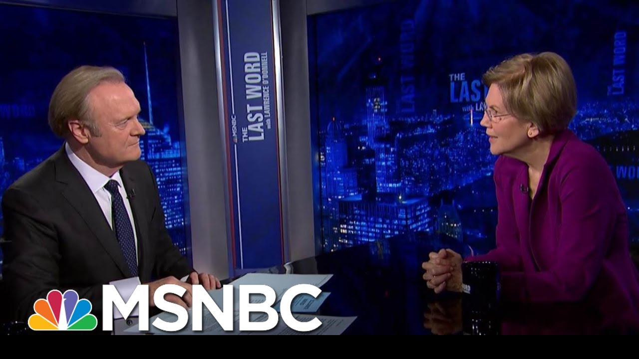 Sen. Warren On Impeachment: 'I Hope We Hold Him Accountable' | The Last Word | MSNBC 8
