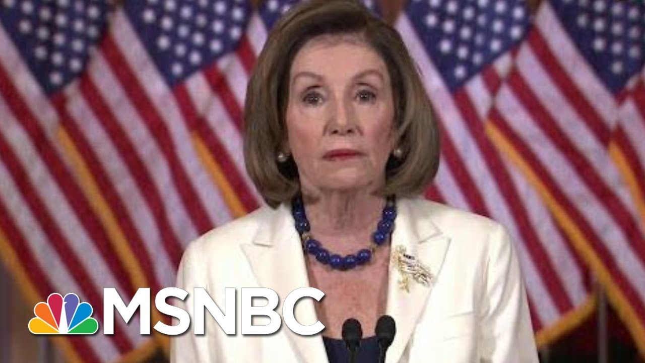 Pelosi Announces House Moving Forward With Articles Of Impeachment | Velshi & Ruhle | MSNBC 6