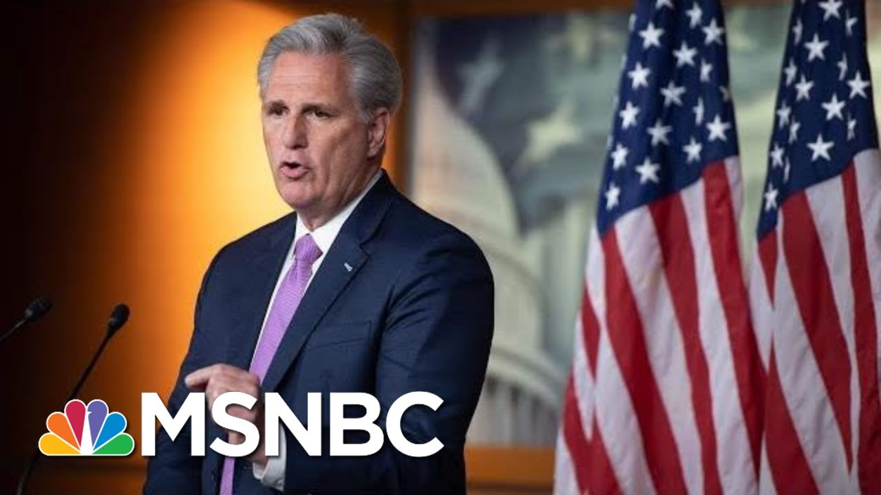 McCarthy: 'I Have A Hard Time Believing' Pelosi Doesn't Hate Trump | MSNBC 2