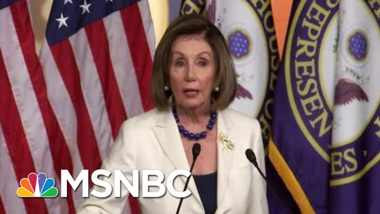 House To Begin Drafting Articles Of Impeachment | Deadline | MSNBC 1