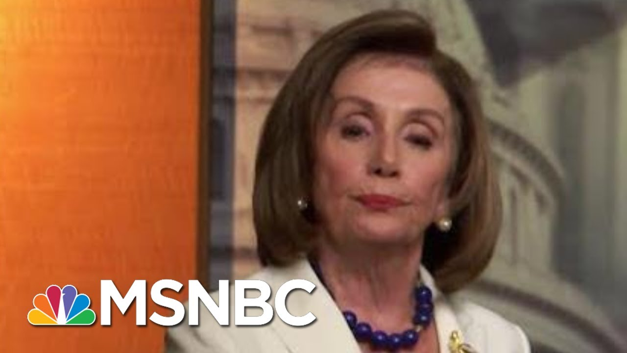 Joe Biden, Nancy Pelosi Rebuke Criticisms In Public Confrontations | MTP Daily | MSNBC 9
