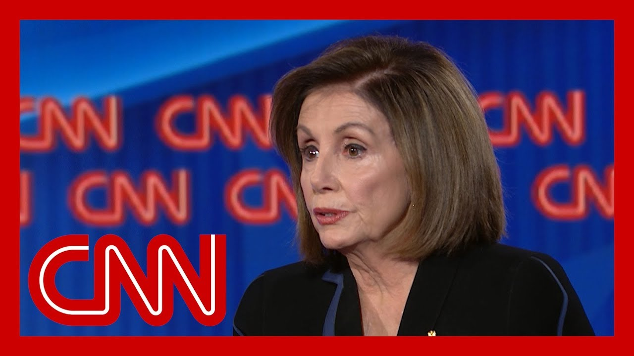 Nancy Pelosi responds to Trump calling her 'nervous' 1