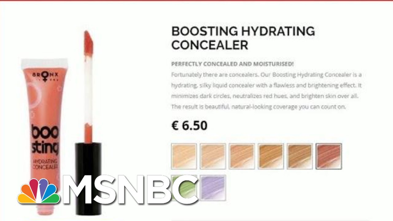 Donald Trump Likes 2 And A Half Of Things - Including His Orange MakeUp | All In | MSNBC 9