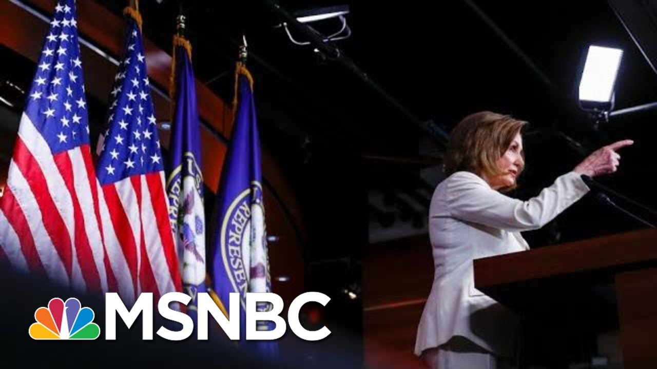 How Pelosi Went From No Way To Full Speed Ahead On Trump Impeachment | The 11th Hour | MSNBC 8