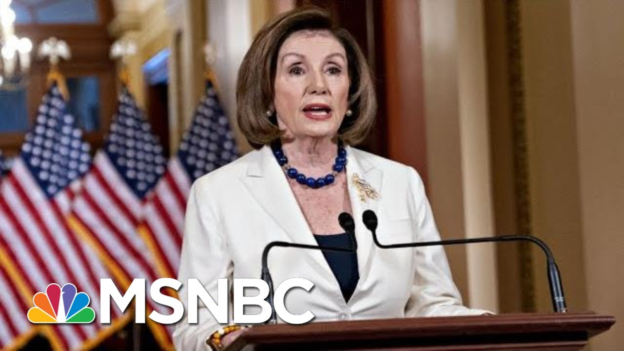 Day 1,050: Okaying Impeachment Articles, Pelosi Says Democracy Is At Stake | The 11th Hour | MSNBC 9