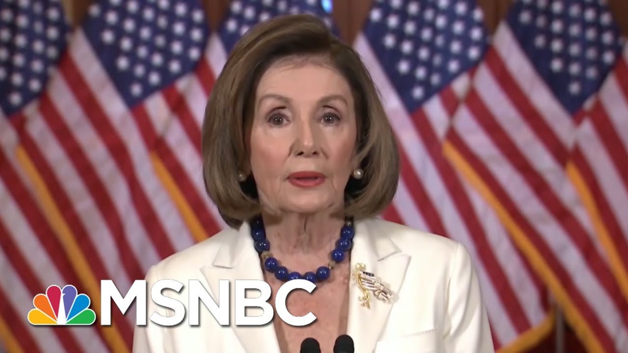 Pelosi Announces Articles Of Impeachment, Trump Attacks & Calls Her Unhinged - Day That Was | MSNBC 10