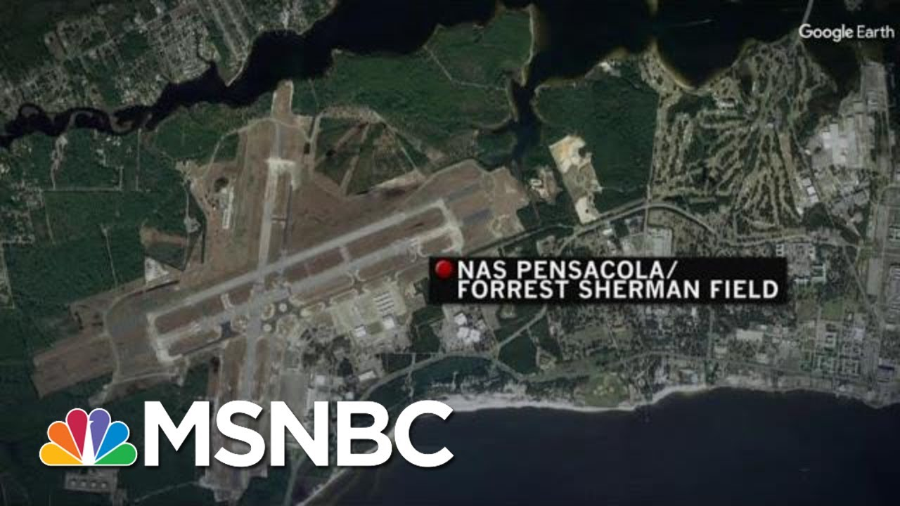 At Least 1 Killed, Suspect Dead In Shooting At Naval Base In Pensacola, FLA | Velshi & Ruhle | MSNBC 7
