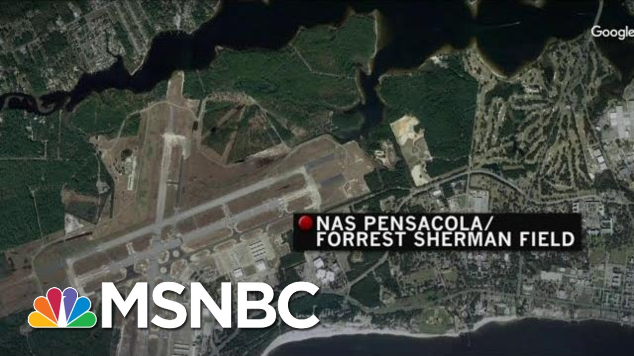 'It Was Chaos': Witness Describes Scene Outside Pensacola Naval Air Station | Velshi & Ruhle | MSNBC 6