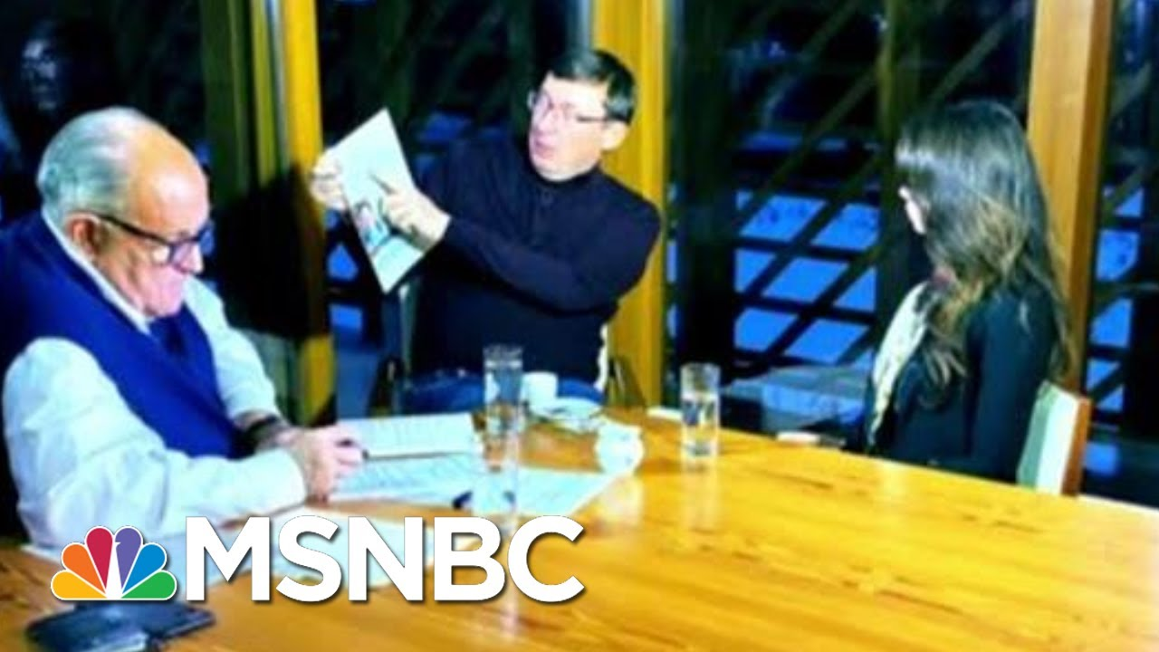 Rudy Giuliani's Odd Ukraine Trip May Widen Legal Exposure | The Beat With Ari Melber | MSNBC 9