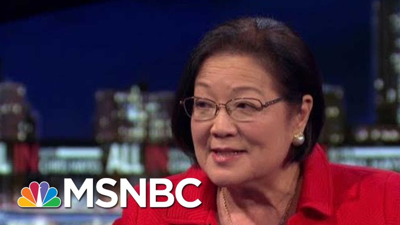 Sen. Hirono On The Lack Of Bipartisanship In Congress Amid Voting Rights Act Vote | All In | MSNBC 6