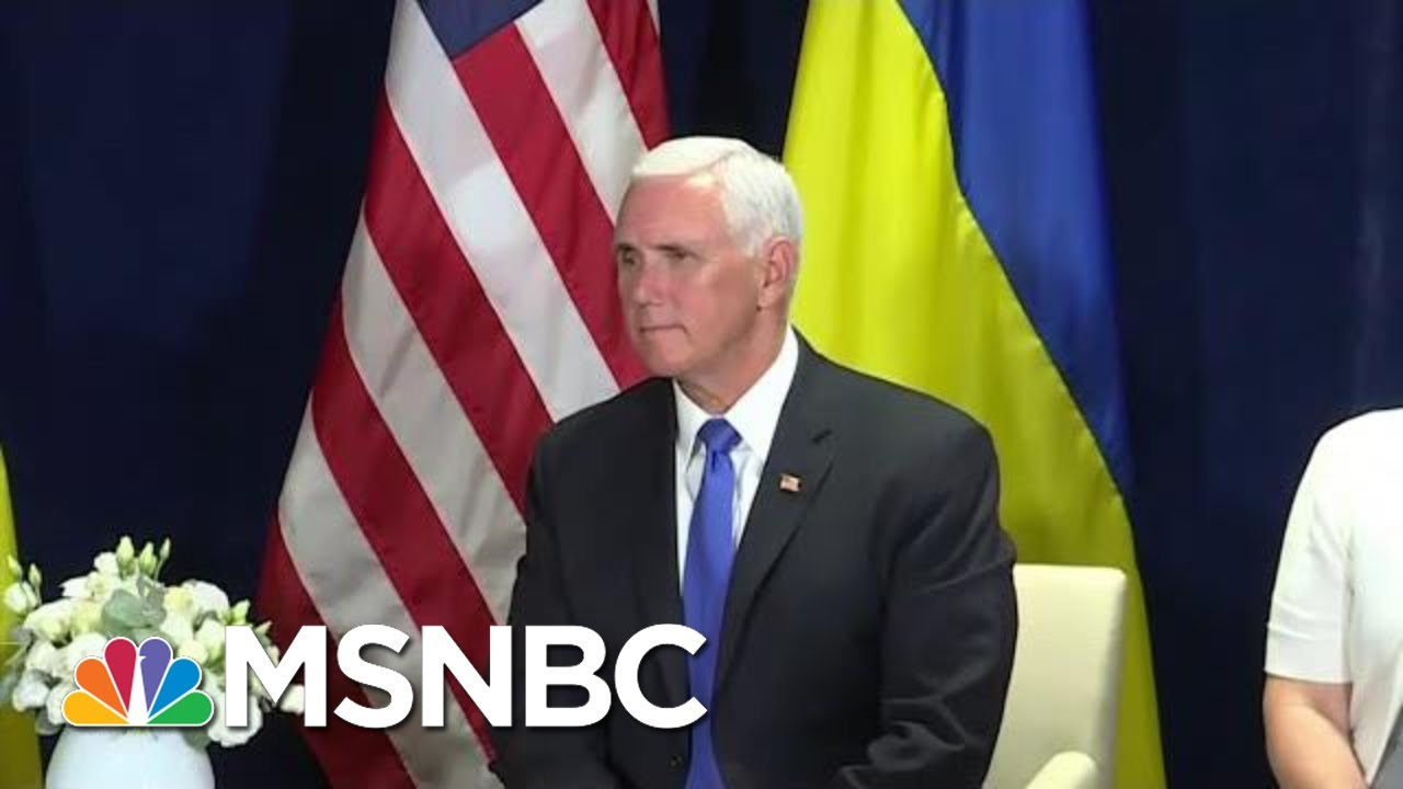 House Intel Wants Mike Pence To Declassify Extra Impeachment Testimony | Rachel Maddow | MSNBC 3